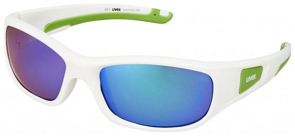 UVEX Radsportbrille »sportstyle 506 Brille« in weiß