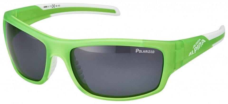 Alpina Radsportbrille »Testido P Brille« in grün