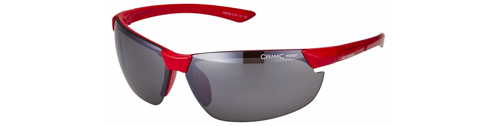 Alpina Radsportbrille »Draff Brille«