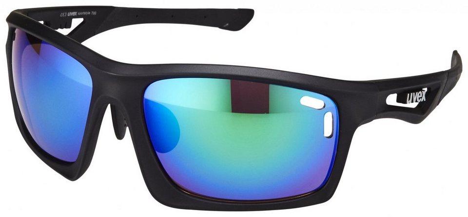 UVEX Radsportbrille »sportstyle 700 Brille« in schwarz