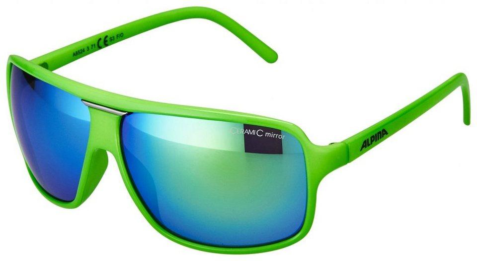 Alpina Radsportbrille »Manja« in grün