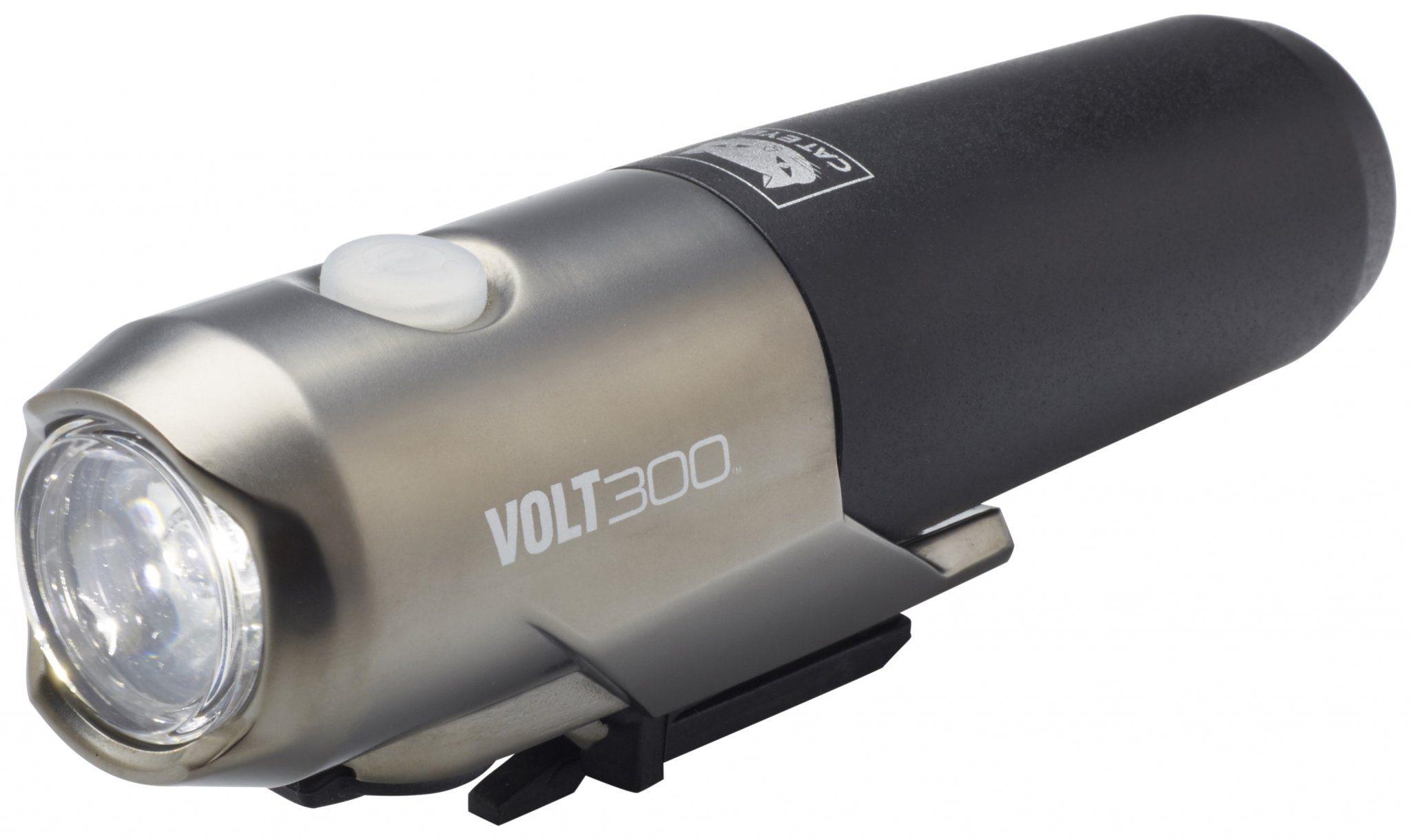 Cateye Fahrradbeleuchtung »Volt300 HL-EL460 RC Helmlampe Set«