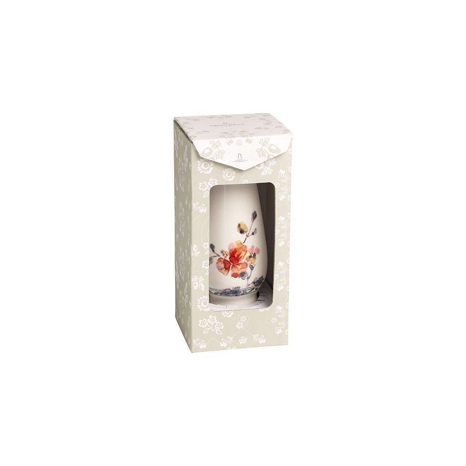 VILLEROY & BOCH Vase/Kerzenständer klein 15,5x6,7cm »Artesano Provençal Verdure Gifts« in Dekoriert