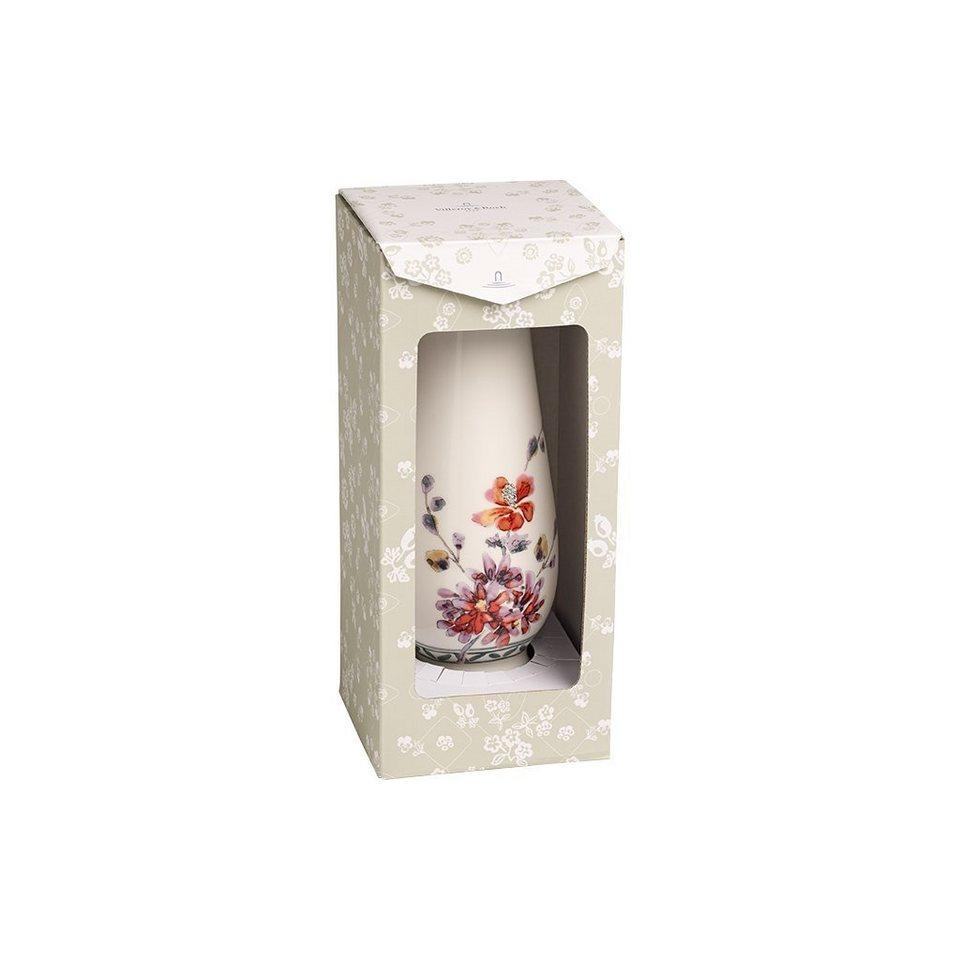 VILLEROY & BOCH Vase/Kerzenständer groß 20x7,3cm »Artesano Provençal Verdure Gifts« in Dekoriert