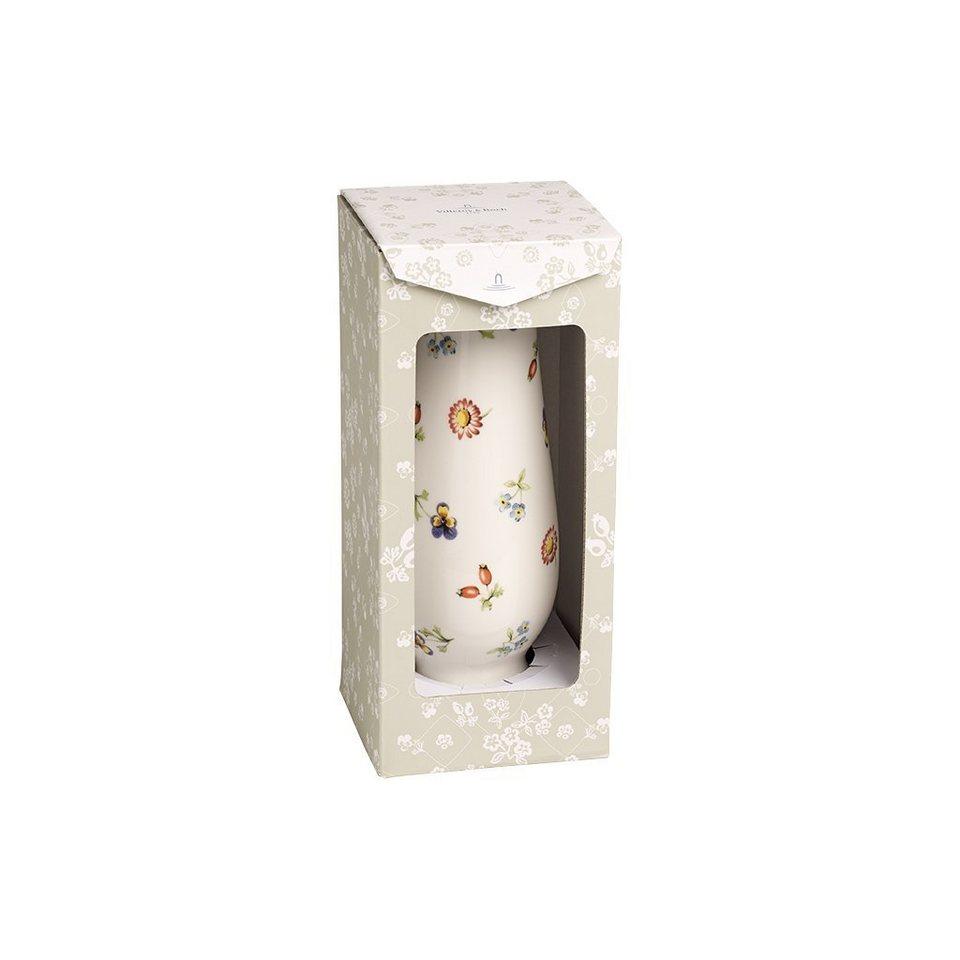 VILLEROY & BOCH Vase/Kerzenständer groß 20x7,3cm »Petite Fleur Gifts« in Dekoriert