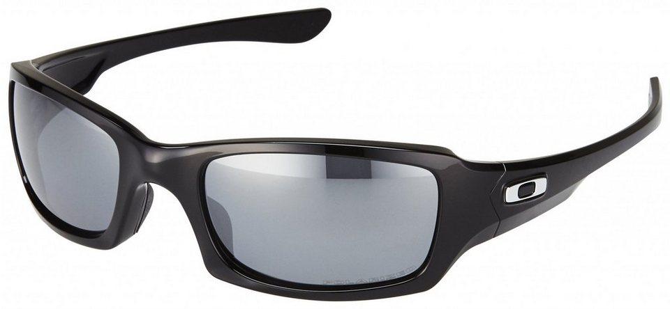 Oakley Radsportbrille »Fives Squared« in schwarz