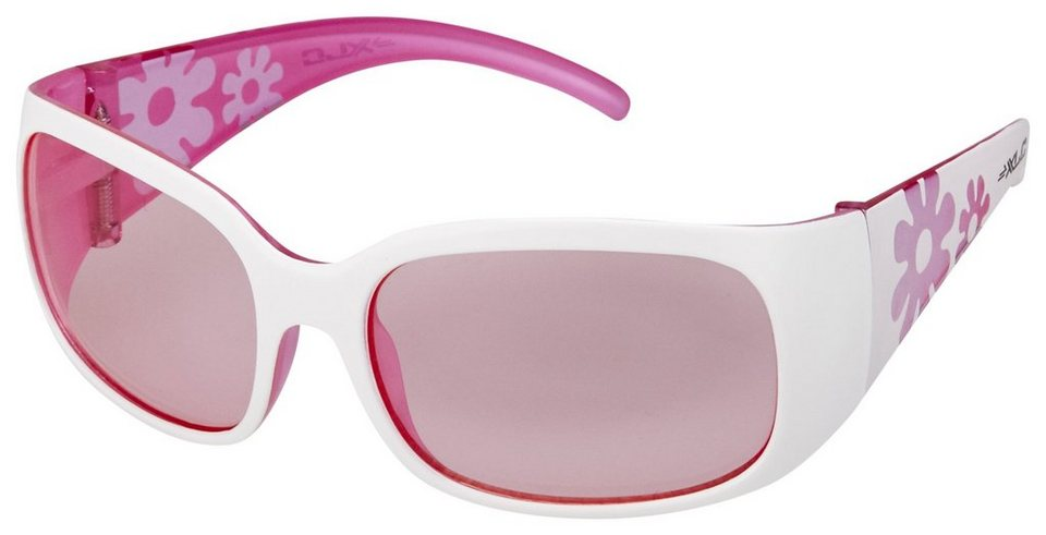 XLC Radsportbrille »Maui Sonnenbrille Kinder« in weiß