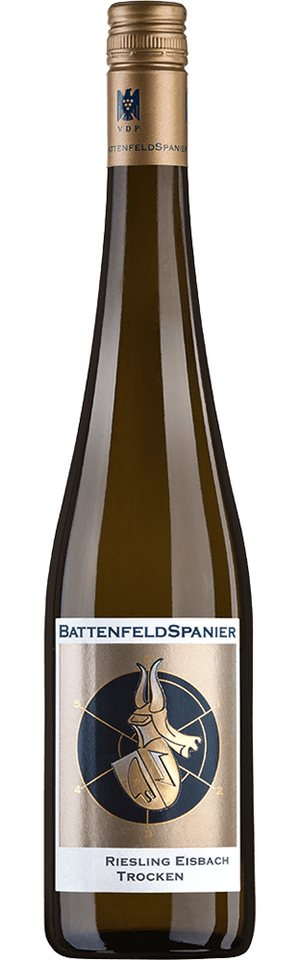 Weisswein aus Deutschland, 12,0 Vol.-%, 75,00 cl »2014 Riesling Eisbach Trocken«