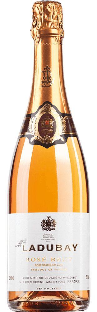 Schaumwein aus Frankreich, 12,5 Vol.-%, 75,00 cl »Mlle Ladubay Rosé«