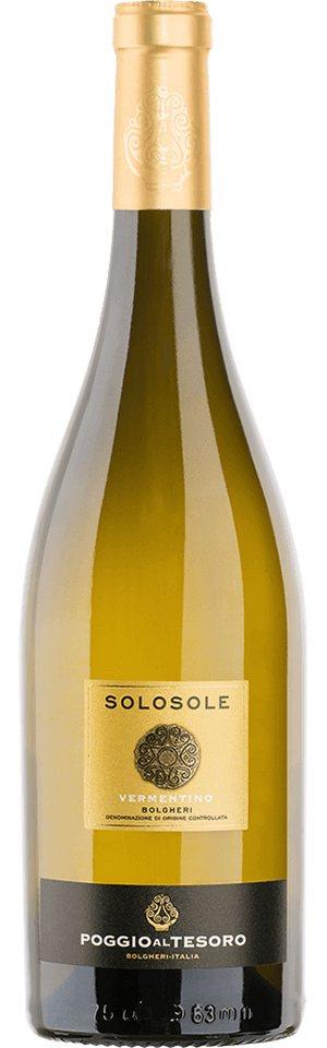 Weisswein aus Italien, 14,5 Vol.-%, 75,00 cl »2015 Vermentino Solosole«