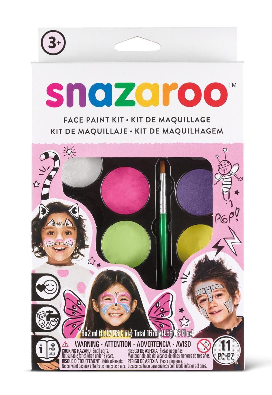 "snazaroo Schminkset ""Mädchen"", 8 Farben"