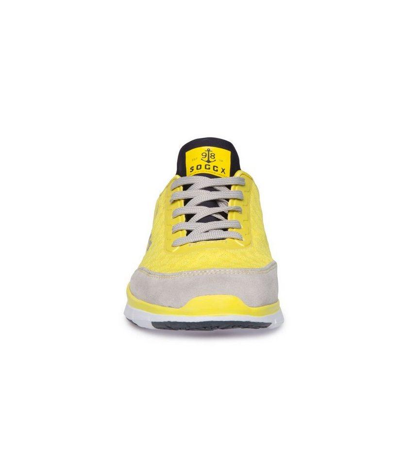 SOCCX Sneaker in sonnengelb