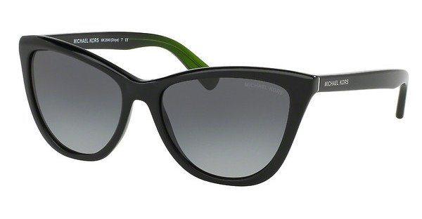 Michael Kors Damen Sonnenbrille »DIVYA MK2040« in 321611 - schwarz/grau