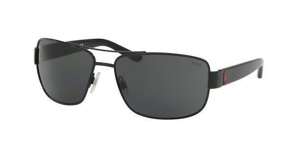 Polo Herren Sonnenbrille » PH3087« in 926787 - schwarz/grau