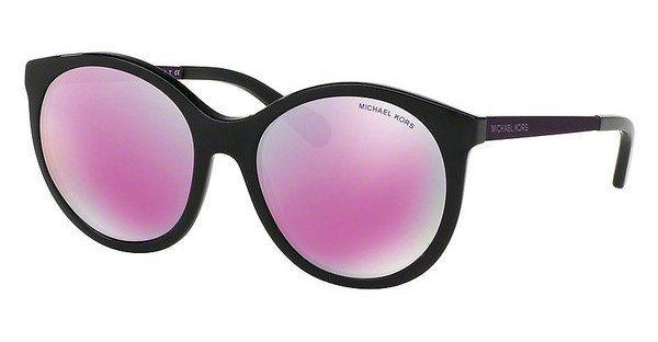 Michael Kors Damen Sonnenbrille »ISLAND TROPICS MK2034« in 32034X - schwarz/rosa