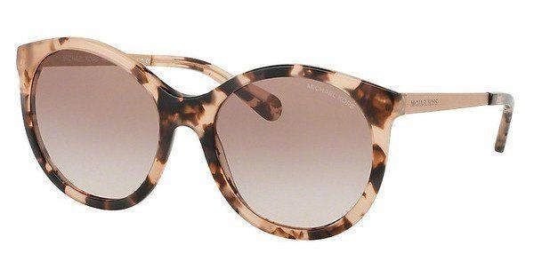 MICHAEL KORS Michael Kors Damen Sonnenbrille »ISLAND TROPICS MK2034«, schwarz, 320411 - schwarz/grau