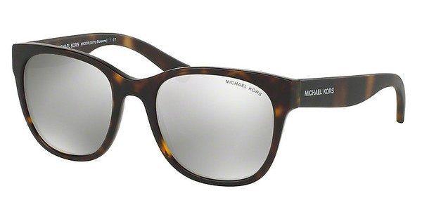 Michael Kors Damen Sonnenbrille »SPRING BLOSSOMS MK2038« in 32076G - braun/silber