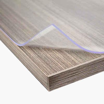 AYLO Tischdecke »PVC Premium Tischfolie einseitig matt 2 mm« (Größen wählbar), - durch die Folie sind Ihre Tische geschützt vor Kratzern, Flecken und Schlägen