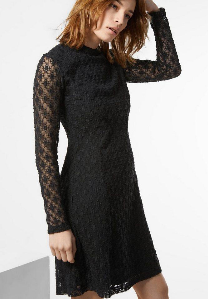 Street One Kleid mit Stickerei Katrina in Black