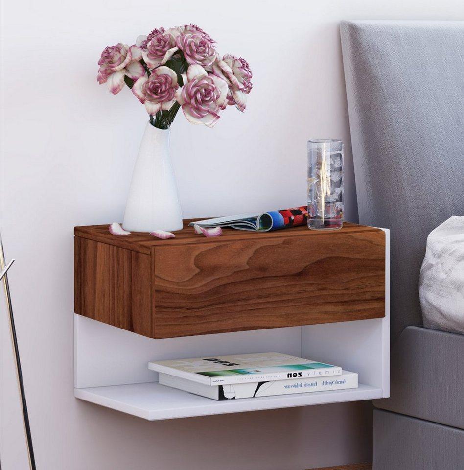 vcm wand nachttisch dormal online kaufen otto. Black Bedroom Furniture Sets. Home Design Ideas