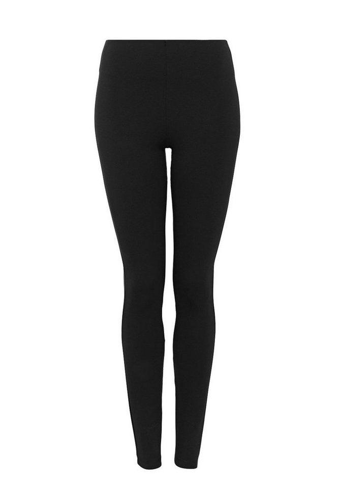 HALLHUBER Leggings mit Gummibund in schwarz