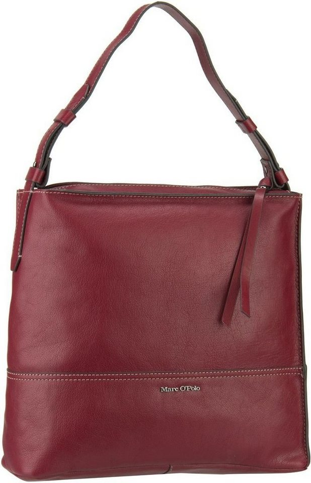 Marc O'Polo Hobo Bag M Grainy Buff in Rosewood
