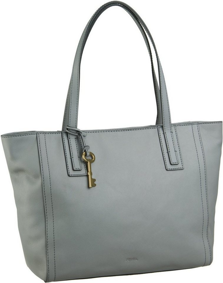 Fossil Emma Tote in Iron