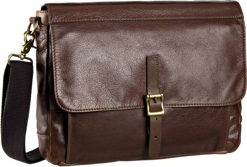 Fossil Defender EW City Leather Uni in Brown