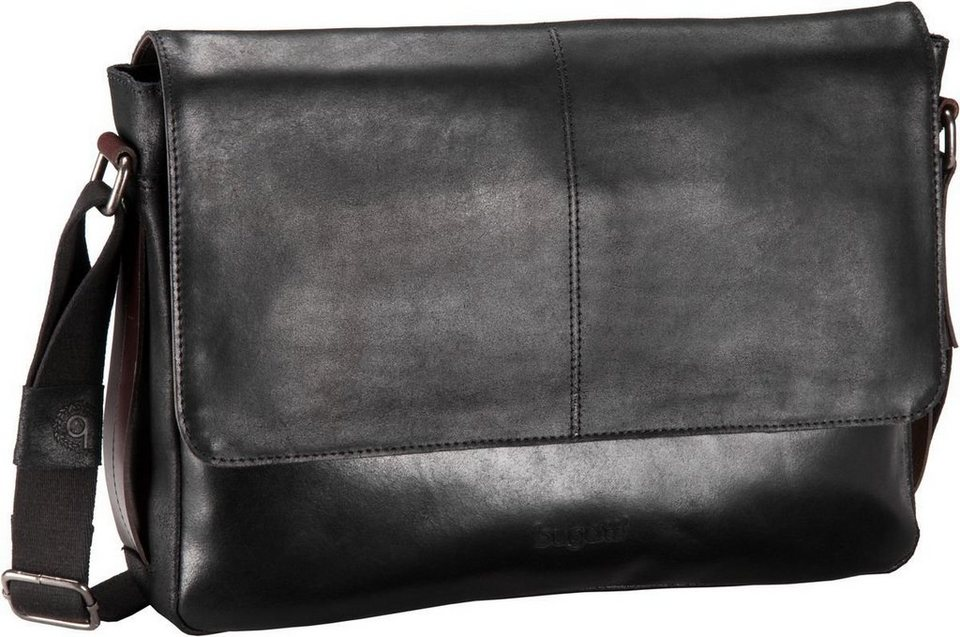 Bugatti Grinta Shoulder Bag Large in Schwarz