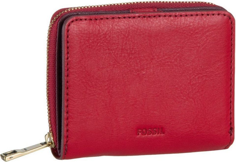 Fossil Emma RFID Mini Multifunction in Crimson