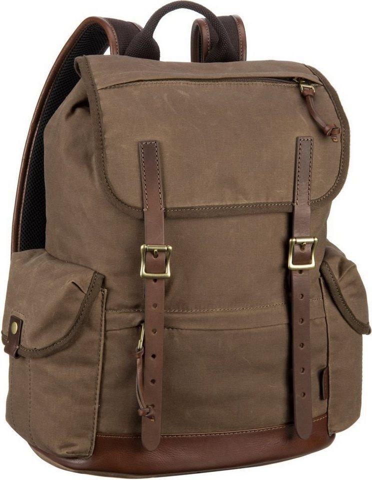 Fossil Defender Backpack in Brown