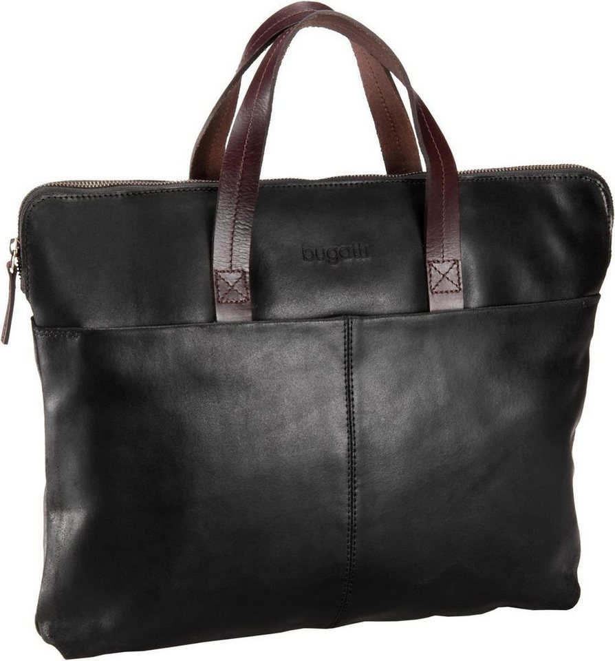 Bugatti Grinta Shopper Horizontal in Schwarz