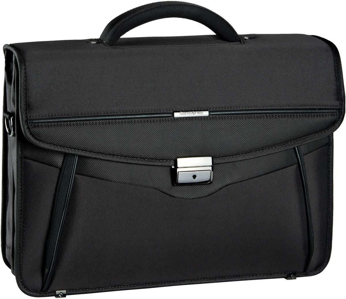 "Samsonite Desklite Briefcase 2 Gussets 15.6"""
