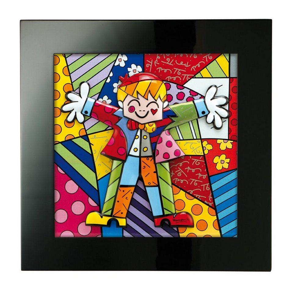 Goebel Hug Too - Reliefbild »Artis Orbis« in Bunt
