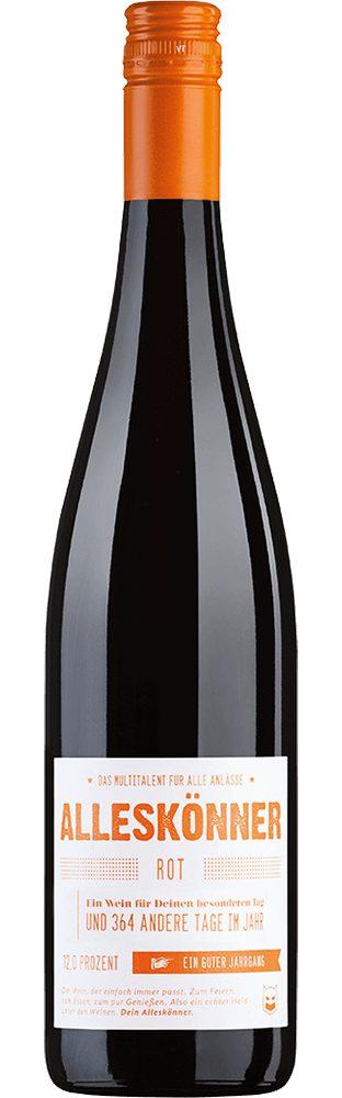 Rotwein aus Deutschland, 12,5 Vol.-%, 75,00 cl »2014 ALLESKÖNNER® Rot trocken«