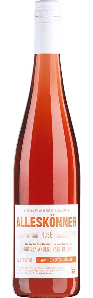 Roséwein aus Deutschland, 12,0 Vol.-%, 75,00 cl »2015 ALLESKÖNNER® Rosé trocken«