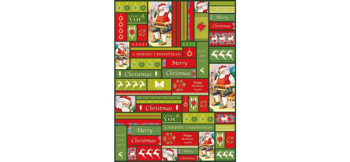 """décopatch Décopatch-Papier """"Santa"""""""