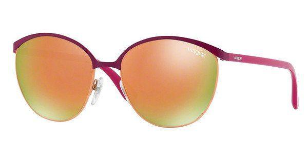 VOGUE Vogue Damen Sonnenbrille » VO4010S«, rosa, 50535R - rosa/ gold