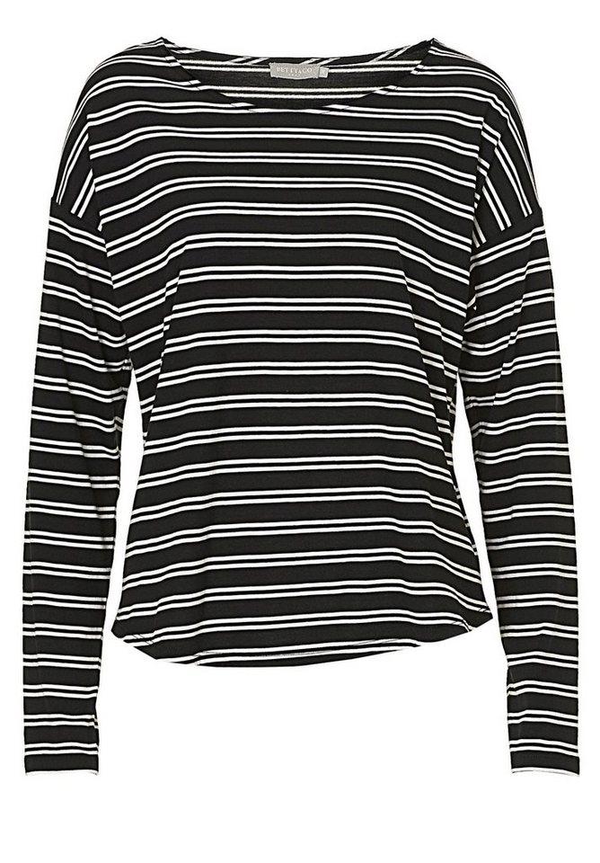Betty&Co Shirt in Schwarz/Weiß - Bunt