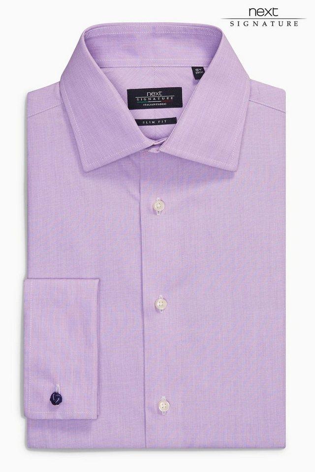 Next Canclini-Hemden mit Regular-Fit in Purple