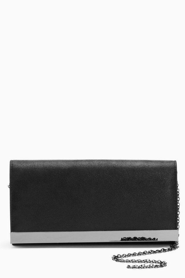 Next Umschlag-Clutch in Black