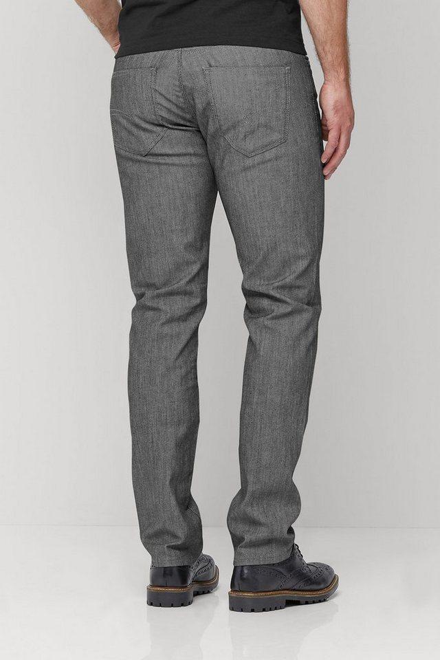 Next Elegante Jeans mit Beschichtung in Grey Slim Fit
