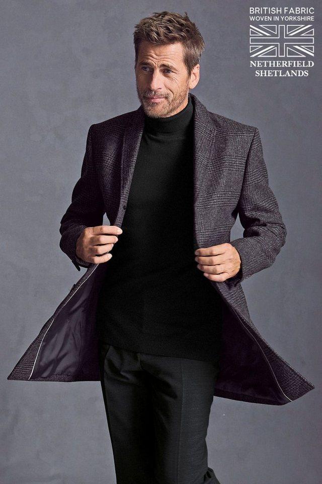 Next Epsom Mantel in Grey Check