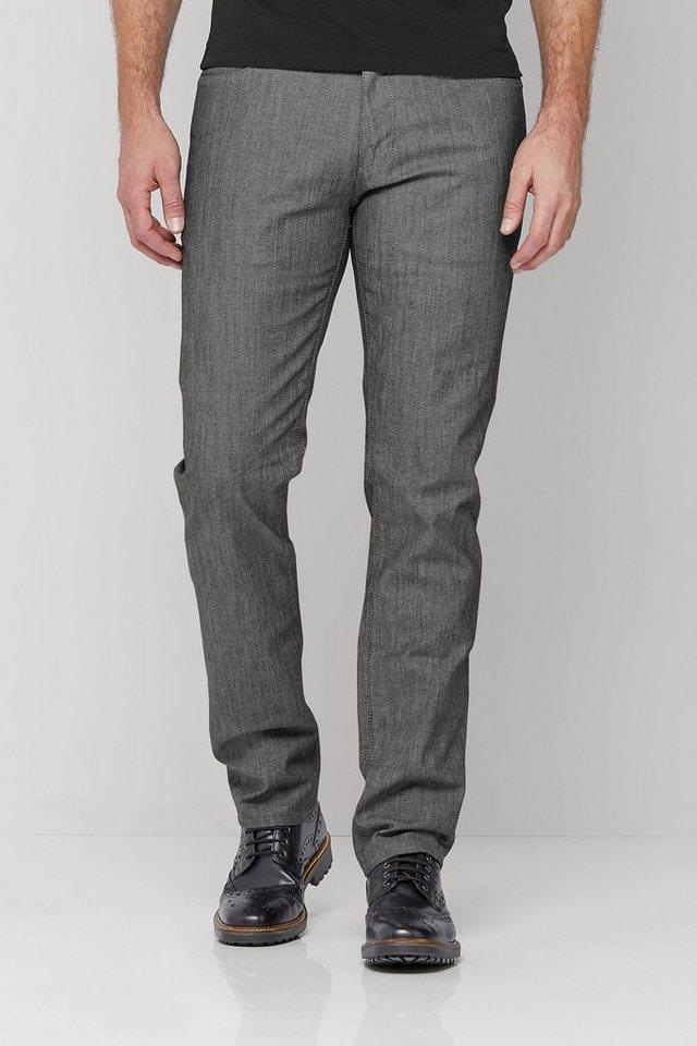 Next Elegante Jeans mit Beschichtung in Straight Fit