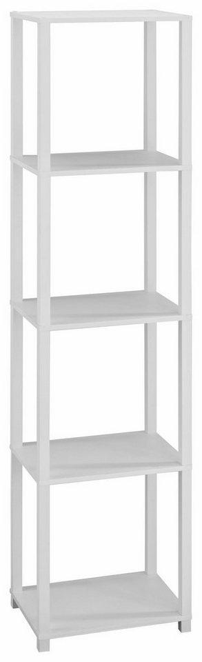 Regal »Detroit«, Höhe 153 cm in weiß