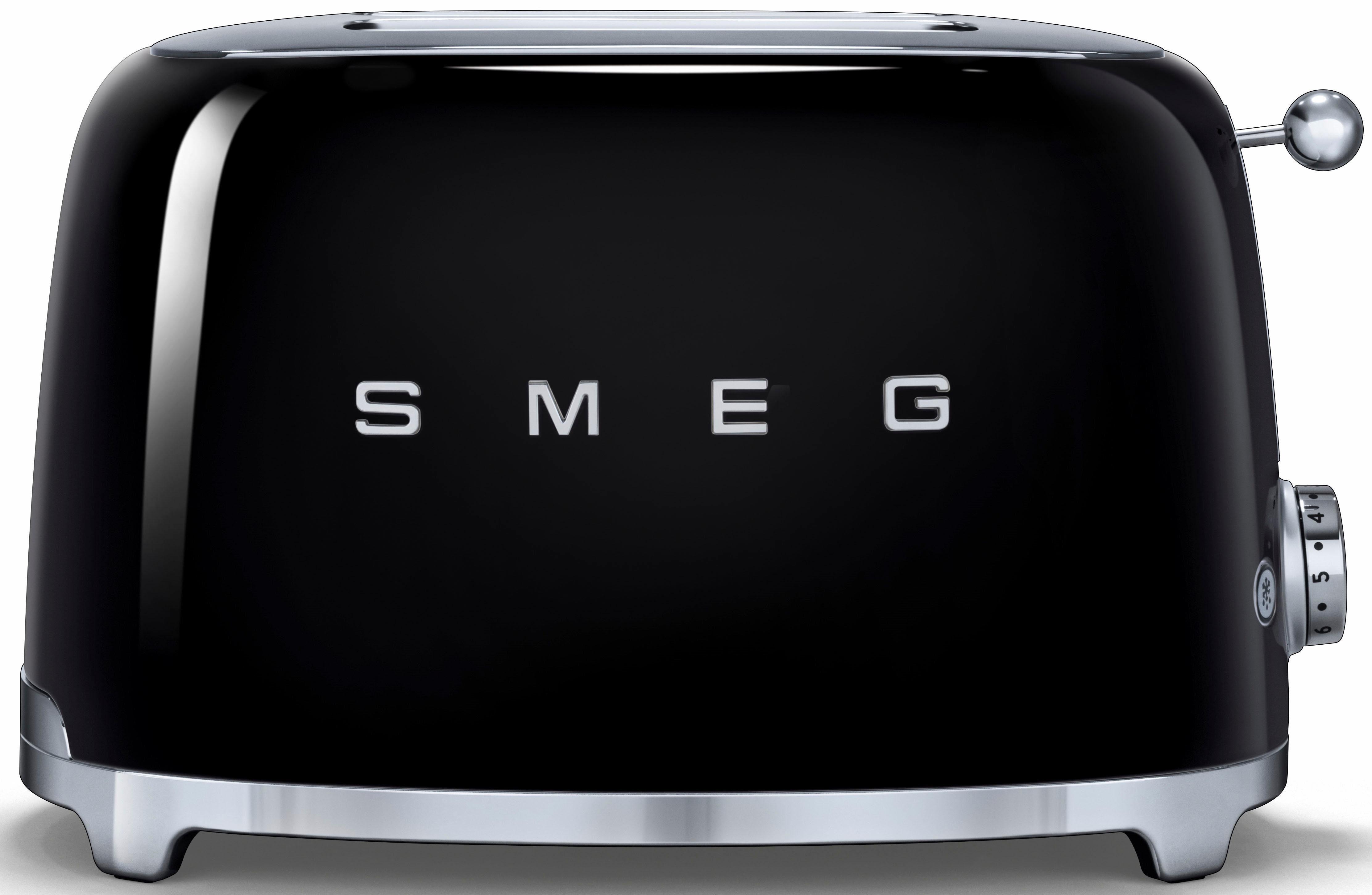 Smeg Toaster TSF01BLEU, für 2 Scheiben, 950 W