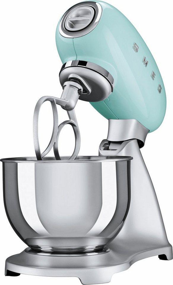 Smeg Kuchenmaschine Smf01pgeu 800 W 4 8 L Schussel Aluminium