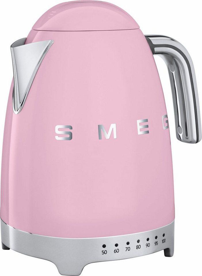 Smeg Wasserkocher KLF02PKEU, 1,7 Liter, 2400 Watt, Cadillac Pink in cadillac pink