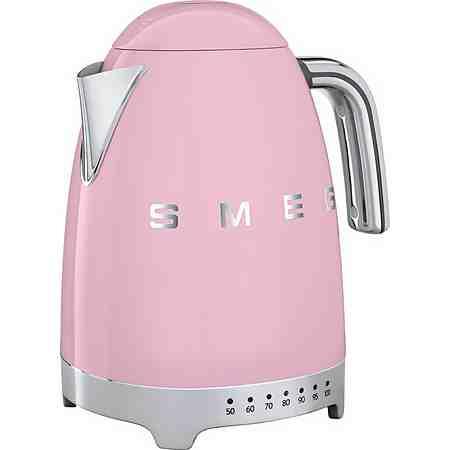 Smeg Wasserkocher KLF02PKEU, 1,7 Liter, 2400 Watt, Cadillac Pink