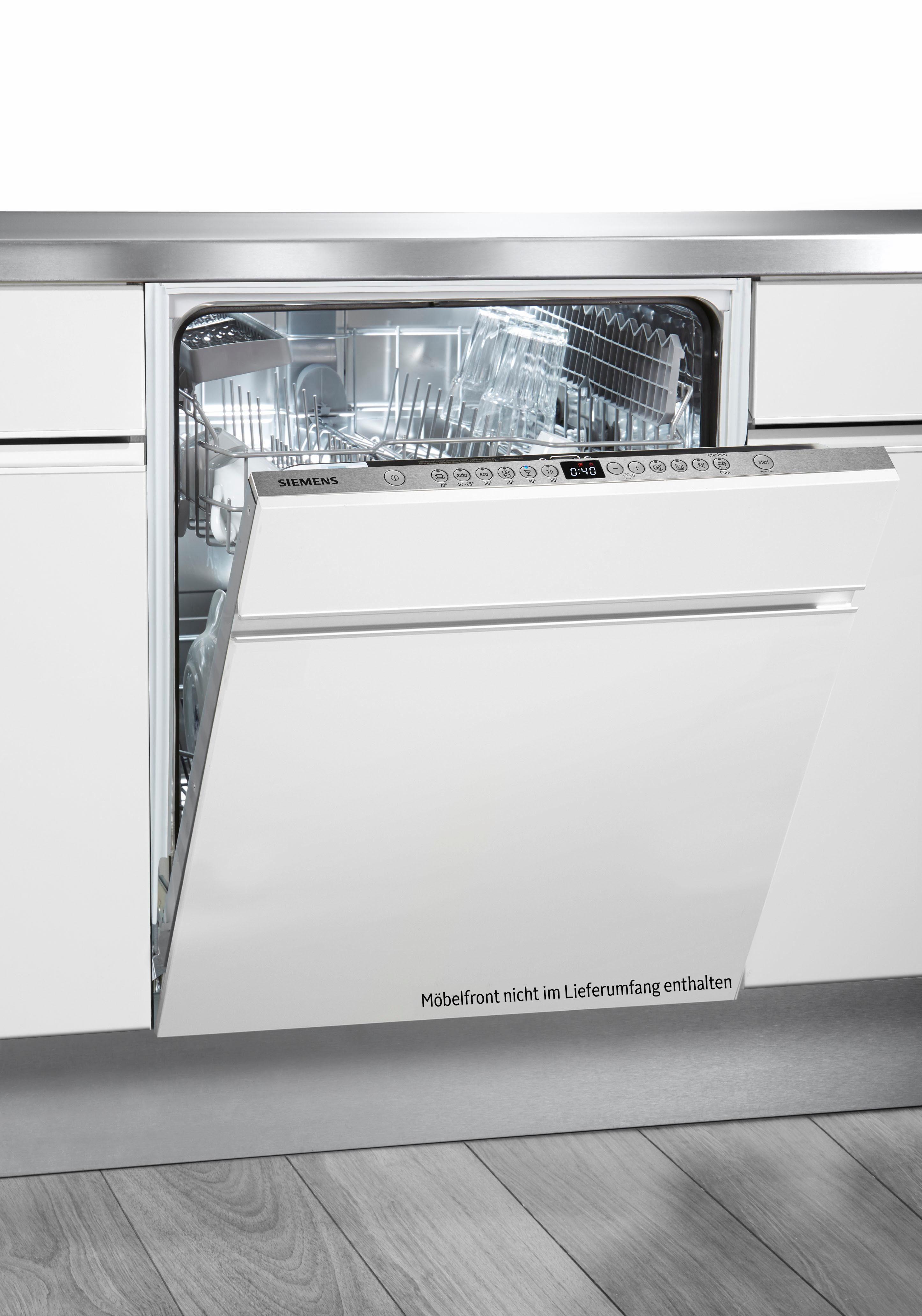 SIEMENS Vollintegrierbarer Einbaugeschirrspüler iQ300 SN636X01CE, A+++, 9,5 Liter, 13 Maßgedecke